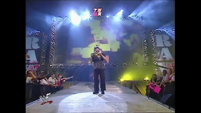 Christian,X-Pac segment Edge (Raw 01.10.2001)