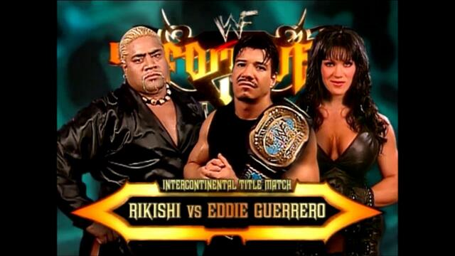 Eddie Guerrero vs Rikishi (Singles match for the WWF Intercontinental Championship)
