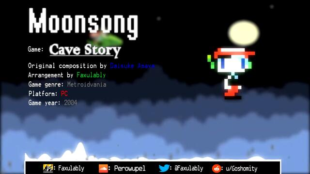 Moonsong (The Outer Wall) - Cave Story【REMIX】