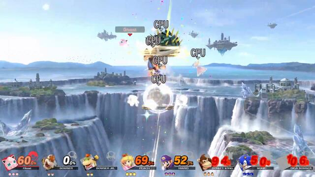 New Smash Stage: Literally Just A Platform