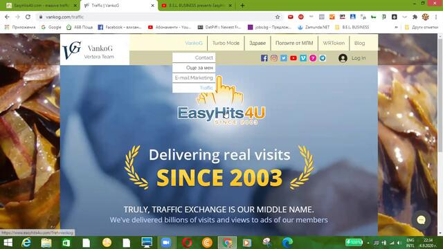 VankoG Upgrade Ultimate Membership 8 in EasyHits4U (2020)