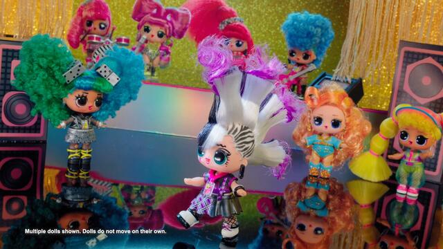 L.O.L. Surprise! O.M.G. Remix Hair Flip Dolls & Remix Pets