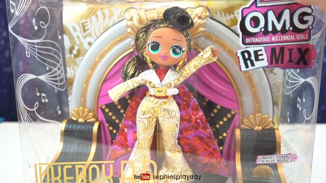 LOL Surprise OMG Remix JukeBox BB Collecotrs Doll 2020 Unboxing