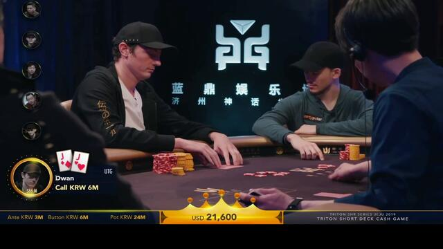 Can Tom Dwan FOLD ACES Here?? (Short Deck Strategy)