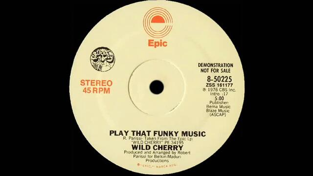 Wild Cherry - Play That Funky Music (Dj ''S'' Remix)