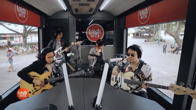 "One Click Straight performs ""Honey"" LIVE on Wish 107.5 Bus"