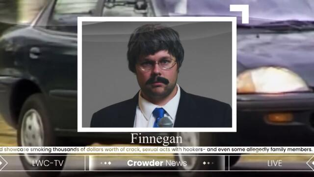 Crowder's Falcon Correspondent: Thomas Finnegan | Louder With Crowder