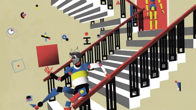 Bauhaus Google Doodle 100 years since the founding of the Bauhaus