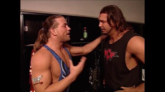Rob Van Dam backstage Kanyon (Raw 24.09.2001)