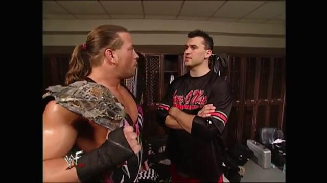 RVD backstage Shane McMahon (Raw 01.10.2001)