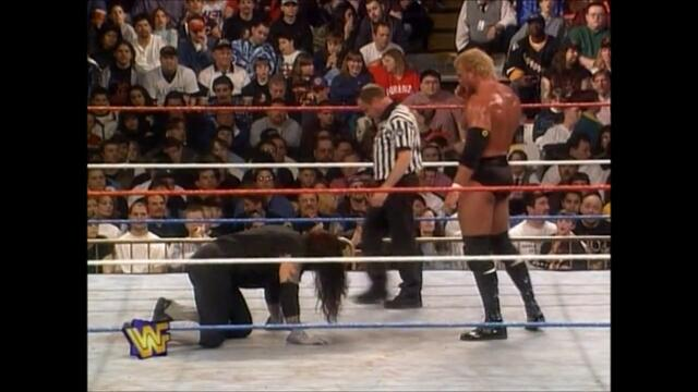 WWF The Undertaker vs Sycho Sid from WrestleMania XIII 2/2