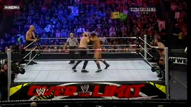 Wwe Over The Limit 2011   The Big Show   Kane Vs. Cm Punk   Mason Ryan ( Tag Team Championships )
