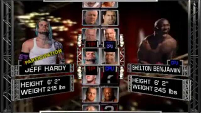 WWE 2007 #2 Jeff Hardy vs Big Show
