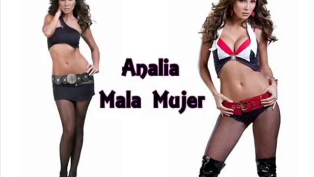 Analia/ El Rostro De Analia || Mala Mujer.. Music video